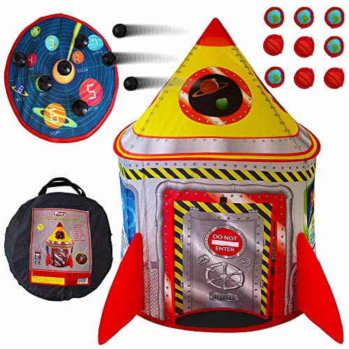 Playz 5 In 1 Rocket Ship Play Tent