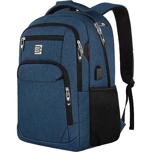 Anti-theft Men Laptop Notebook Backpack Travel Business School Bag USB Charging