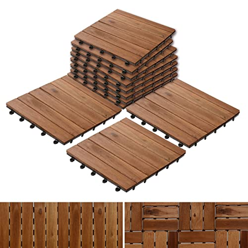 Acacia Wood Tile Flooring