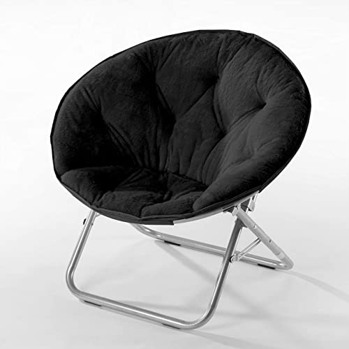 Pink Urban Shop Faux Fur Saucer Chair