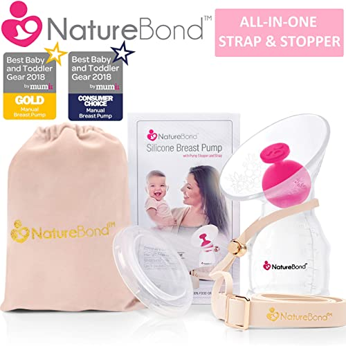 Silicone Hands-Free Breastfeeding Breast Pump Milk Saver Pump Suction Food Grade