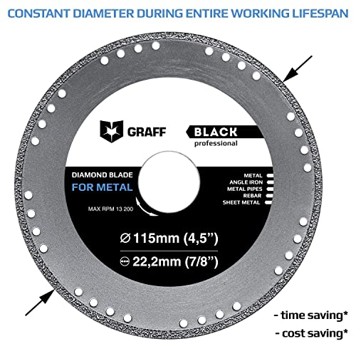 5 in Disc Dia Non-Woven Finishing Disc 5//8-11 in Ctr Hole THD Aluminum Oxide 15 Units 6000 RPM