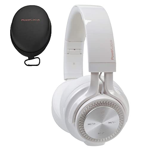 Powerlocus P3 Wireless Bluetooth Headphones Over Ear Foldable Stereo Wireless Wired Headphone Over Ear With Mic Deep Bass Headset For Ios Android Laptop Pc Tv White Buy Products Online With Ubuy Thailand In Affordable Prices B07lh3clbs