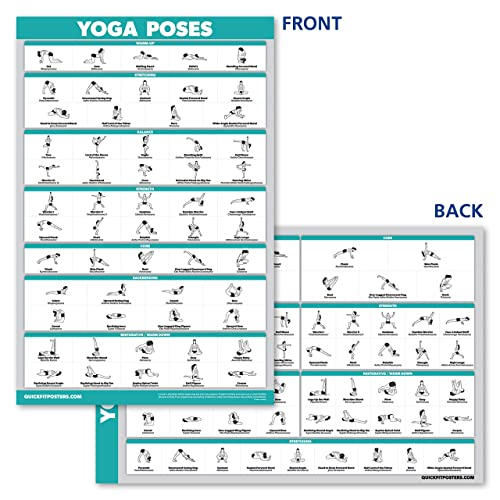 beginner yoga poses chart  kayaworkoutco