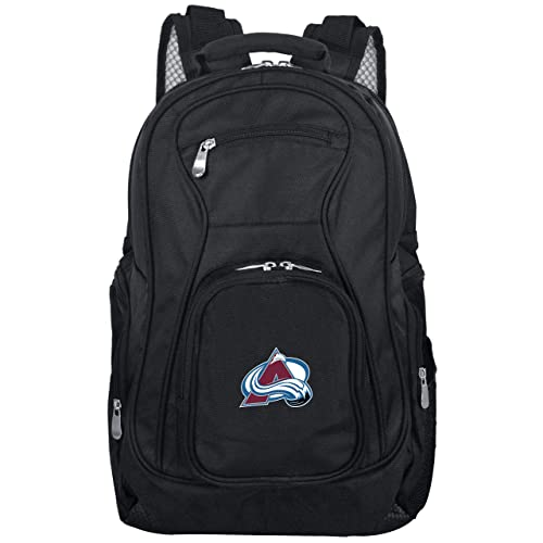 NHL Expedition Wheeled Backpack Pink 19-inches