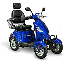 Royal Blue BMC-EWH EW-36B EWheels 3-Wheel Mobility Scooter EW-36