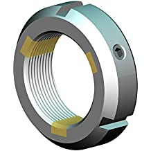 Self-Locking Whittet-Higgins CNB-10 Threaded Clampnut//Shaft /& Bearing Locknut Collar Standard NC-10, UNS 1.967-18 Right-Hand Thread Replaces Ruland TCN-10-F