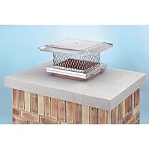 HomeSaver Pro-UltraPro Terra Cotta Top Plate Chimney 34251 6 in