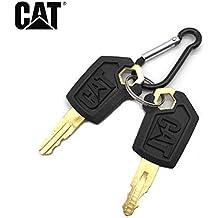 3 Pcs Ignition Key 123243 for Mitsubishi BD2 Series Caterpillar Kubota Forklift