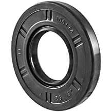 Oil Seal 30X55X10 1.181x2.165x0.394 2 PCS 30mmX55mmX10mm Oil Seal Grease Seal TC  EAI Double Lip w//Garter Spring Single Metal Case w//Nitrile Rubber Coating