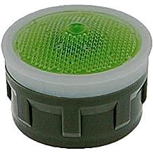 Green//Clear Dome 15//16 x 55//64-27 Threads 15//16 x 55//64-27 Threads Regular Neoperl 11 3200 5 Economy Flow PCA Perlator HC Dual Thread Aerator 1.5 GPM Laminar Honeycomb