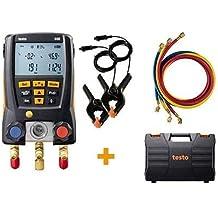 0.63 Head Diameter 0.6 to 40 m//s Range 0 to 60/° C Temperature Testo 416 Digital Mini Vane Anemometer