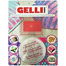 Designed to Print with/ 5x7 Printing Plate Gelli Arts Bead Stencil