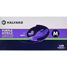 Pack of 2000 Chloroprene Halyard 44795 FLEXAPRENE Green Exam Glove 9.5 Length Large Beaded Cuff
