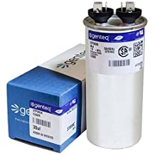 2-Pack 7.5 MFD 370 Volt Oval Motor Run Capacitor Replacement for Aerovox 81A3901 CAP-97F9001 UpStart Components Brand
