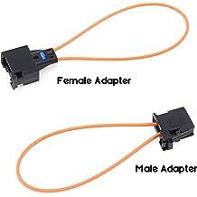 VCCA Most Fiber Optic Optical Loop Bypass Female Adapter for VW Audi Porsche BMW Mercedes Benz
