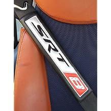 Set of 2 Seat Belt Harness Pads for HERBIE 53 Interior Black Leatherette