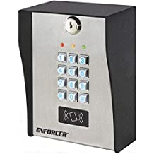 SK-1323-SPQ Seco-Larm Sealed Housing Weatherproof Digital Access Keypad w//Built-in Proximity Reader