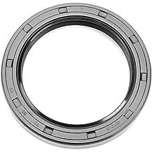 Oil Seal 25X52X7 TC Metal Case w// NBR Coating EAI Double Lip w// Spring