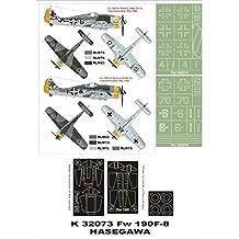 Montex Super Mask 1:32 Fw-190 A-8 /& A-8//R2 for Hasegawa Spraying Stencil #K32339
