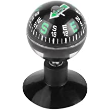 Car Mount Compass,Adjustable Dash Mount Compass Navigation Hiking Direction Pointing Guide Ball for Car Truck Hiking Outdoor
