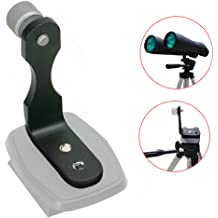 Compatible with Binoculars Microscopes Spotting Scopes and Telescopes. Snapzoom Universal Digiscoping Adapter for iPhone and Android Smartphones