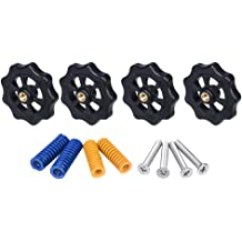 4pcs M4X35mm Screws for Creality Ender 3 A8 3D Printer 4pcs Upgraded Hand Twist Leveling Nut Diameter 40mm 4pcs Hot Bed Spring