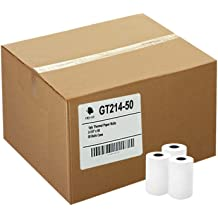 """2 1//4/"""" X 85/' - 50 Rolls Thermal King Thermal Credit Card Paper Thermal King"""
