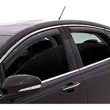 Crew Cab 2010-2018 Dodge Ram 2500//3500 Vent Visor Sun//Rain Guard Crew Cab /& Mega Cab VITO 4pcs Side Window Deflectors Original Window Visors for 2009-2018 Dodge Ram 1500