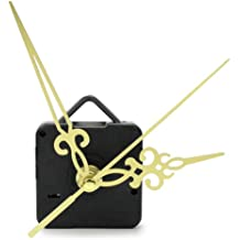 Yeahii Simple DIY Gold Hands Quartz Wall Clock Movement Mechanism Replacement Parts Kit