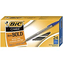 , BIC Velocity Bold Retractable Ballpoint Pen 1.6mm Bold Point