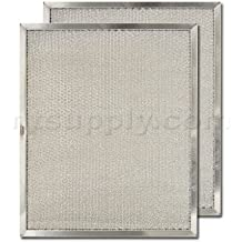 2-Pack 99010303F BPS2FA36 Replacement Range Filter Compatible with Broan Models 99010300 BFS3FA36-11-3//4 X 17-1//4 X 3//8