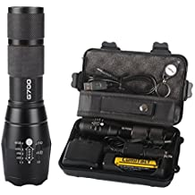 20000LM Genuine X800 SHADOWHAWK XML L2 LED Tactical Military Flashlight ZOOMable