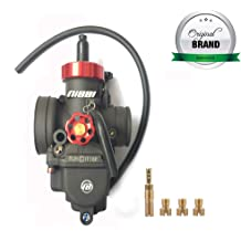 NIBBI Replacement Motorcycle Throttle Cable 110cm Adjustable Accelerator Cable 100cm For NC engine YAMAHA HONDA SUZUKI SSR APOLLO Mini Bike Pit Bike Motorcross green