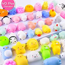 lUDILO 10 Giant Squishy Toys for Kids Jumbo Squishies Slow Rising Galaxy Unicorn Squishys Squeeze Toys Scented Decompression Stress Relief Toys Novelty Easter Egg Hunt Gifts Birthday Party Supplies