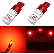 Alla Lighting 3156 3157 LED Bulbs 3000lm Extreme Super Bright Turn Signal Lights for Cars Trucks T25 3057 3457 4157 4057 Amber Yellow