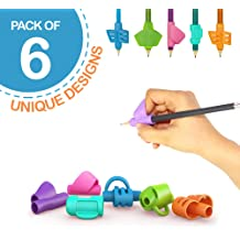 Premium Training Pencil Grips for Kids Handwriting for Preschool Ritchoi Upgrade Right or Left Hand Ergonomic Pencil Grip for Kids and Training Pencil Grip for Adults 30 Pcs