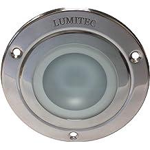 Lumitec 4 Color Halo Brushed Flush Mount Down Light