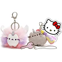Pusheenicorn /& Pusheen with Doughnut Make a Pusheen Crochet Craft Kit in a Tin
