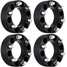 14x1.5 6 Lug spacers fits for Chevy Silverado 1500 HD GMC Sierra 1500 HD Yukon Denali XL Adapter Cadillac Escalade SCITOO Replacement Parts for 1 Inch Wheel Spacers 6x5.5 6x139.7 to 6x139.7 2X