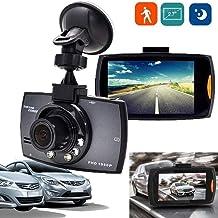 Borisdar HD 1080P Auto DVR Mini Car Camera Digital Video Recorder Night Vision G-Sensor in-Visor Video