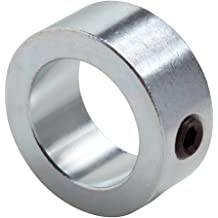 Set Screw Style Stainless Steel 1-1//8 OD 1//2 Width Climax Metals C-062-SX10 Shaft Collar with 5//16-18 Set Screw Pack of 10 One Piece 5//8 Bore