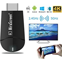 Mirascreen G2 Dual Band Wireless WiFi Display Dongle HDMI 1080P TV Converter MA