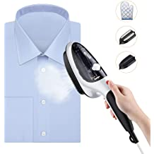Mini Handheld Fabric Steamers Fast-Heating Powerful Clothes Steamer for Travel and Home No Iron Necessary Maibet Portable Garment Steamer