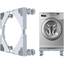 Front-loading Machine,Cover on 4 Sides-Maximum Protection Gray,W27 D33 H39 inches Washing Machine Cover//Dryer Cover,Fit for Most 7.5-12KG