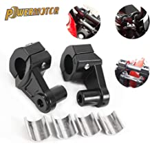 Motorcycle Handlebar Risers 1 1//8 inch 28mm Universal Handle Bars Mount Clamp Fit for Harley Kawasaki Suzuki Yamaha Honda Sportster Road King Cruisers Choppers ATV Dirt Bike KTM Husaberg Husqvarna