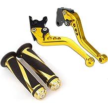 Krace 3D Texture Folding Motorcycle Clutch Brake Levers Set Fit For Kawasaki Z250SL 2016-2017,NINJA 250R 2008-2012,NINJA 300R//Z300 2013-2018 Ninja 400 2018,ERSYS 300X 2017 2018