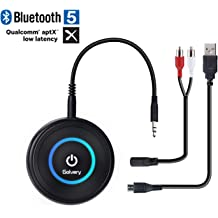 Receivers Using RCA /& 3.5mm Stereo Jack Thonet and Vander Flug Bluetooth Audio Adapter BT Receiver for Streaming Wireless to Active Speakers Portable and Lightweight