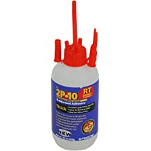 FastCap 2P-10 Professional Medium 10 oz Wood Formula Super Glue Adhesive 5-Pack