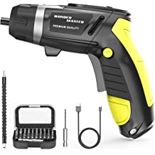 6V Battery Cordless Electric Screwdriver with 11pcs Two-way Rotating Head